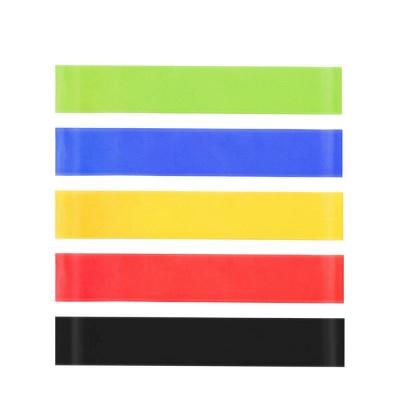 5 PCS Per Set Elastic Rubber Resistance Yoga Stripes With Bag_5