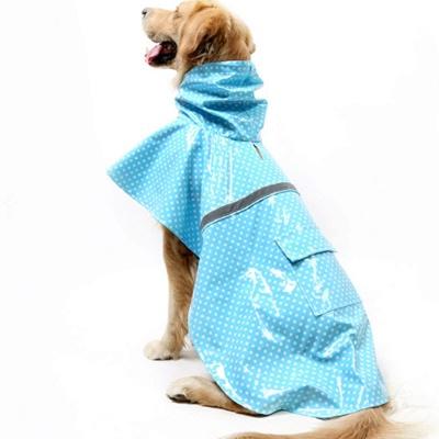 Fashion Pet Dog Raincoat For Mediun Large  Dogs_2