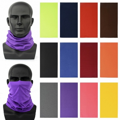 Protection Neck Gaiter Magic Face Cover Scarf Dust Wind Bandana Clothing Mask_7