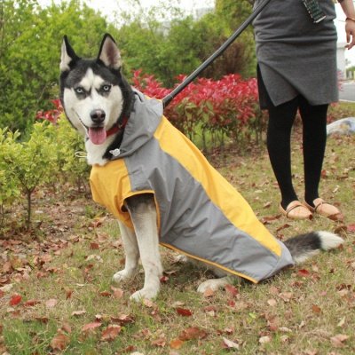Perfect Rain Gear For Your Pet Fashion Dog Jacket Rainwear_4
