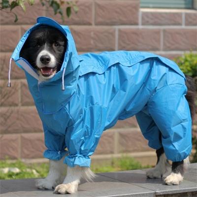 Water Proof Dog Rain Jacket With Hood_1