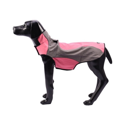 Waterproof Dog Raincoat Hooded with Reflective Strip_2