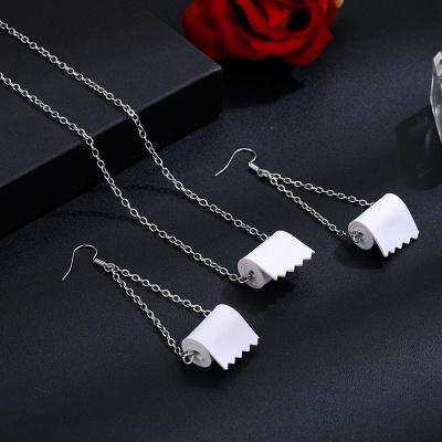 Toilet Paper Earrings Most Memorable Gift of 2021_4