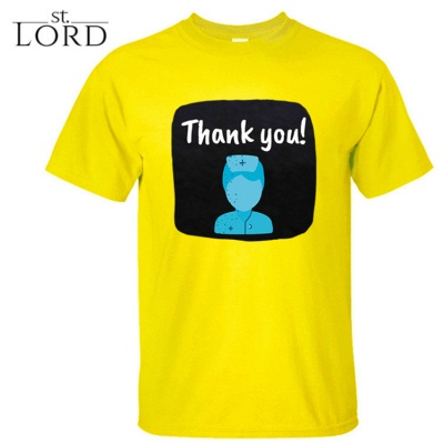 Cotton Jewel Thank You Printed T-shirt Special Memory 2020_8