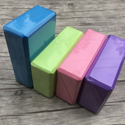 1PC Practice Fitness Gym Sport Tool Yoga Block | Brick Foaming Foam Home Exercise Tool_4