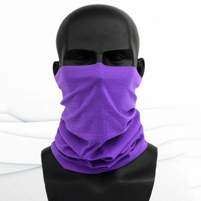 Protection Neck Gaiter Magic Face Cover Scarf Dust Wind Bandana Clothing Mask