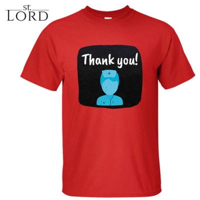 Cotton Jewel Thank You Printed T-shirt Special Memory 2020_4
