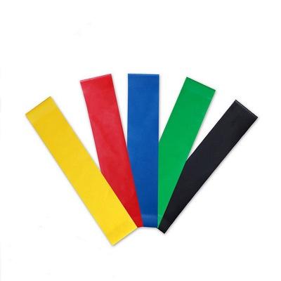 5 PCS Per Set Elastic Rubber Resistance Yoga Stripes With Bag_2