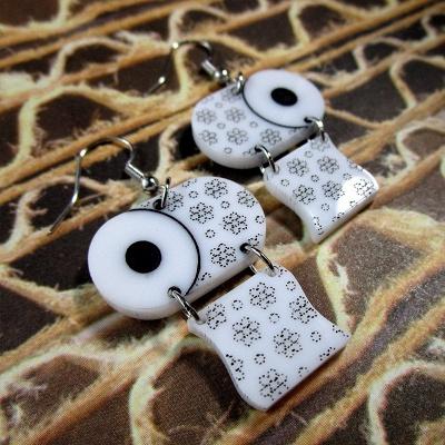 Sterling Silver Toilet Paper Earrings 2020 Best Gift Idea_5