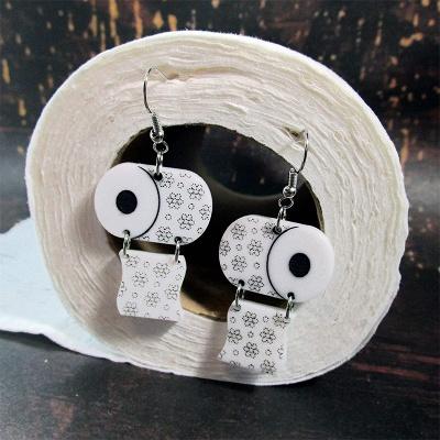Sterling Silver Toilet Paper Earrings 2020 Best Gift Idea_6