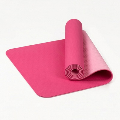 High Density Exercise Fitness Yoga Mat   Workout Ma for Yoga Pilates_9