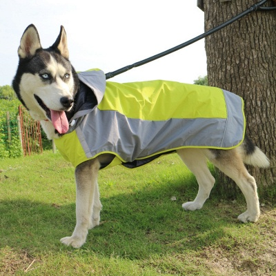 Perfect Rain Gear For Your Pet Fashion Dog Jacket Rainwear_2