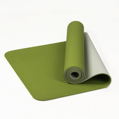 High Density Exercise Fitness Yoga Mat   Workout Ma for Yoga Pilates_5