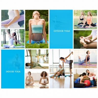 High Density Exercise Fitness Yoga Mat   Workout Ma for Yoga Pilates_12