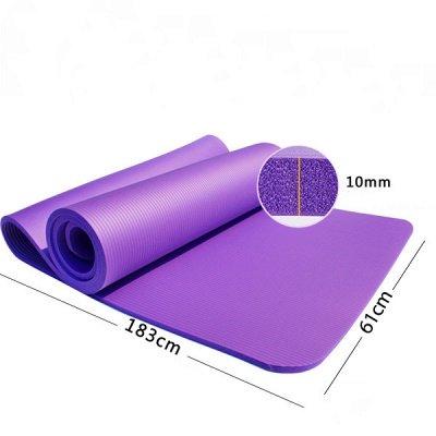 Yoga Exercise Moisture-Resistant Mat | Cushioned Yoga  Mat_2