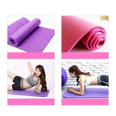 High Density Eco Excercise Fitness Yoga Mat_2
