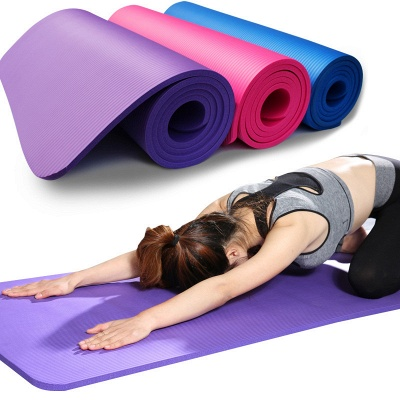 Yoga Exercise Moisture-Resistant Mat | Cushioned Yoga  Mat
