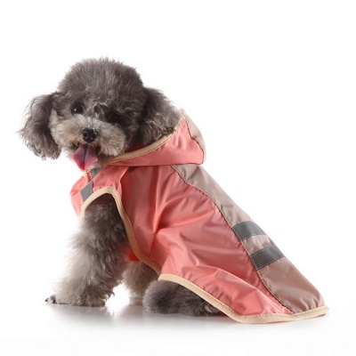 Cute Dog Rain Poncho Fashion Dog Raincoat for Small Medium Dog_5