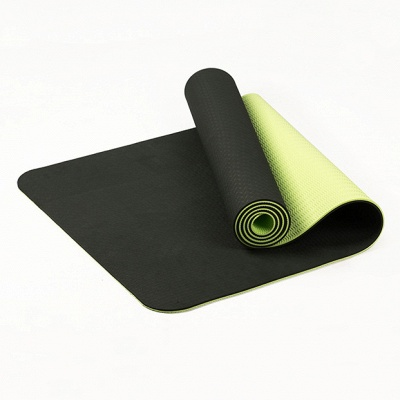 High Density Exercise Fitness Yoga Mat   Workout Ma for Yoga Pilates_4