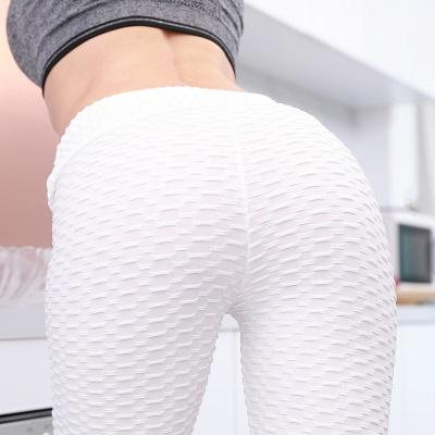 Women High Waist Sports Yoga lu Pants  |  Elastic Fitness Tights Gym Pants_7