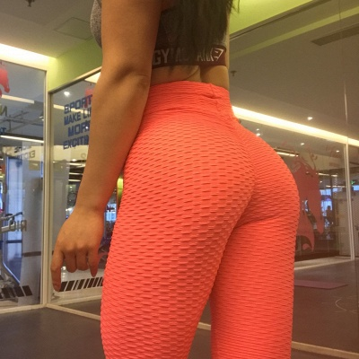 Women High Waist Sports Yoga lu Pants  |  Elastic Fitness Tights Gym Pants