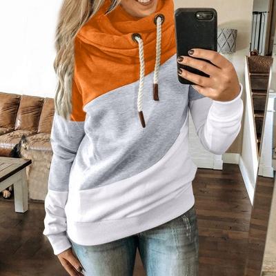 Multicolor Long Sleeve Hoodie Sweatshirt_6