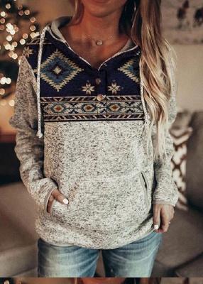 Women Long Sleeve Casual Sweatshirt & Hoodie_3
