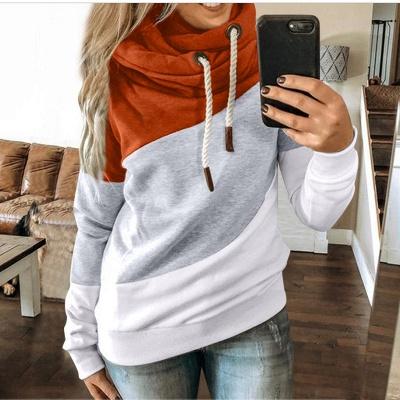 Multicolor Long Sleeve Hoodie Sweatshirt_8