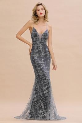 Elegant Mermaid Sleeveless Long Evening Dress On Sale_6