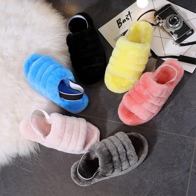 High Quality Australian Boots Women Designer Slippers Uggs Furry Slipper On Sale_13