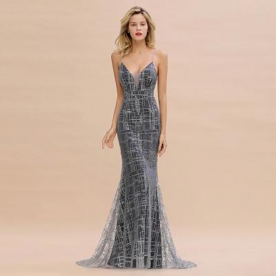 Elegant Mermaid Sleeveless Long Evening Dress On Sale_2