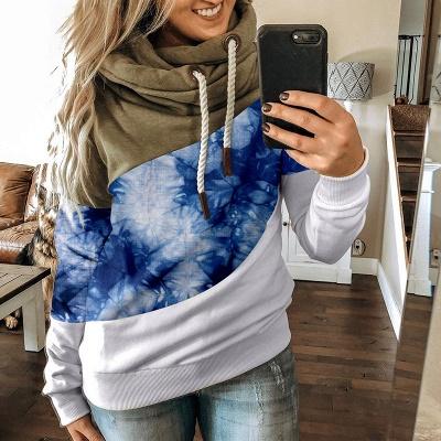 Multicolor Long Sleeve Hoodie Sweatshirt_3