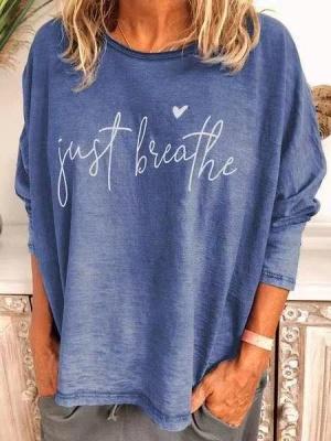 Women's Cotton CrewNeck Printed T-shirt_4