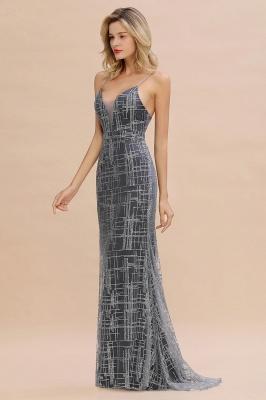 Elegant Mermaid Sleeveless Long Evening Dress On Sale_11