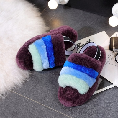 High Quality Australian Boots Women Designer Slippers Uggs Furry Slipper On Sale_9