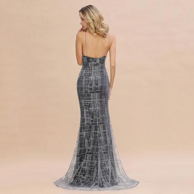 Elegant Mermaid Sleeveless Long Evening Dress On Sale_13
