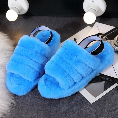 High Quality Australian Boots Women Designer Slippers Uggs Furry Slipper On Sale_6