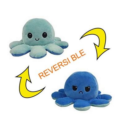 5 PCS Reversible Flip Octopus Stuffed Plush Doll Soft Simulation Reversible Plush Toys Color Chapter Plush Doll Child Toys_11
