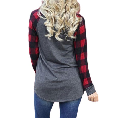 Women's IT'S THE MOST WONDERFUL TIME OF THE YEAR Christmas Check Sweatshirt_2