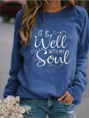 IT IS WELL WITH MY WITH MY SOUL Printed Sweatshirt_3