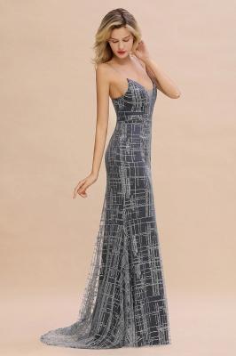 Elegant Mermaid Sleeveless Long Evening Dress On Sale_8