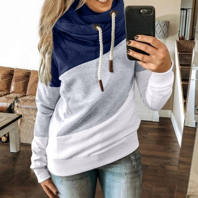 Multicolor Long Sleeve Hoodie Sweatshirt_9