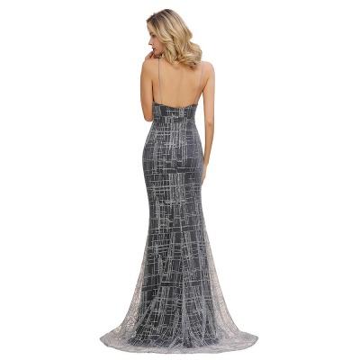 Elegant Mermaid Sleeveless Long Evening Dress On Sale_12