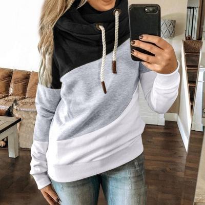 Multicolor Long Sleeve Hoodie Sweatshirt_7