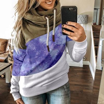 Multicolor Long Sleeve Hoodie Sweatshirt_5
