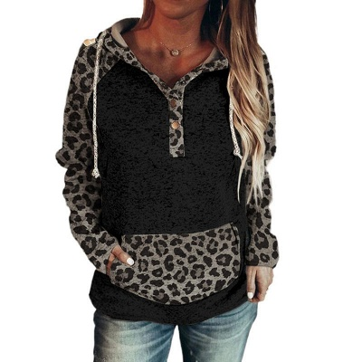Women's Fashion Long Sleeves Hooded Sweatshirt_10