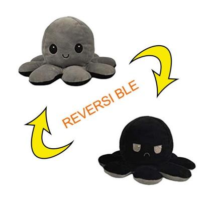 5 PCS Reversible Flip Octopus Stuffed Plush Doll Soft Simulation Reversible Plush Toys Color Chapter Plush Doll Child Toys_28