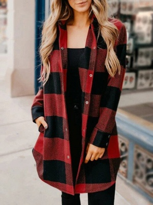 Classic Plaid Cozy Shirt_1