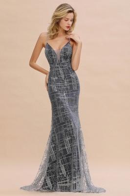 Elegant Mermaid Sleeveless Long Evening Dress On Sale_5