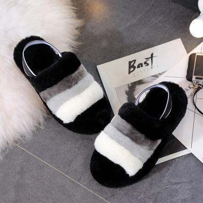High Quality Australian Boots Women Designer Slippers Uggs Furry Slipper On Sale_1